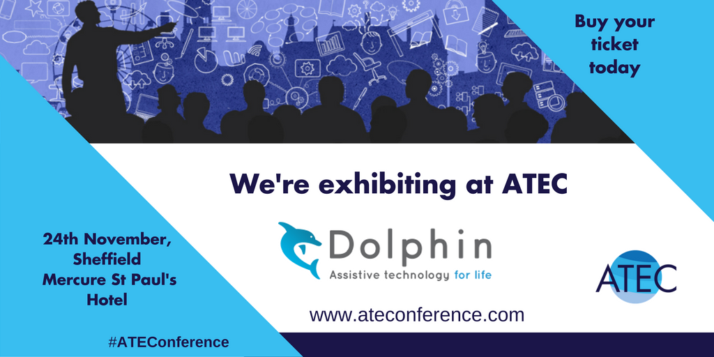 We're exhibiting at ATEC, 24th November