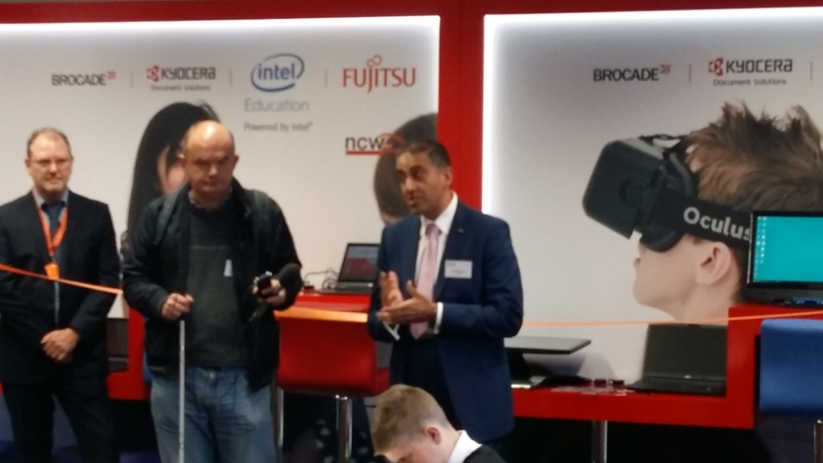 Ash Merchant from Fujitsu talking about the Innovation Hub