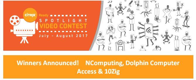 Citryx Ready Spotlight video competition winners announced - NComputin, Dolphin Computer Access &10Zig