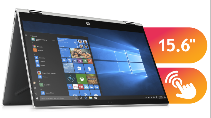 15 inch touchscreen laptop with 8GB memory
