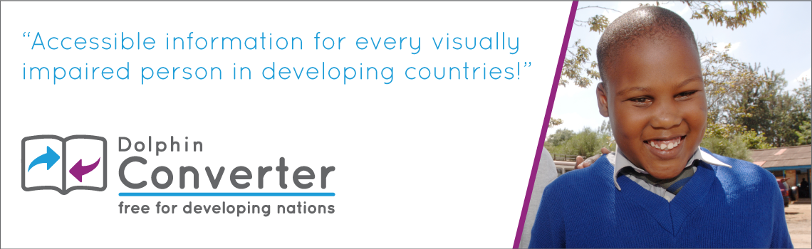 Accessible information for every visually impaired person in a developing country. EasyConverter Express