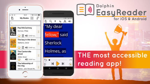 The most accessible reading app!