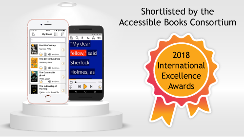 Shortlisted by the Accessible Books Consortium Picture