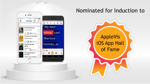 Shortlisted for the AppleVis Hall of Fame Picture