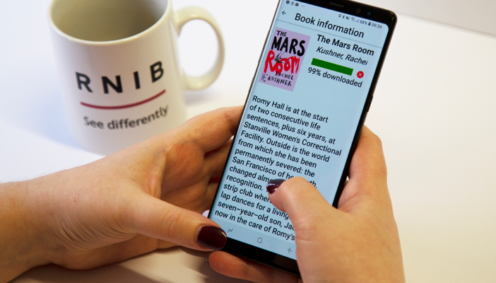 EasyReader and RNIB Bookshare