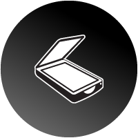Scan & Read Keyboard Icon
