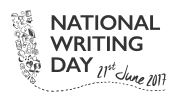 National Writing Day logo 21st June 2017