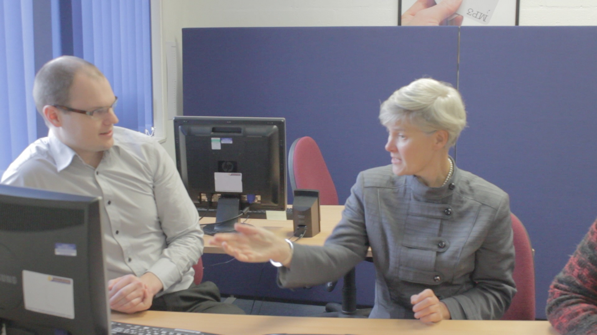 Dolphin's Simon Kitchen talks to MP Kate Green