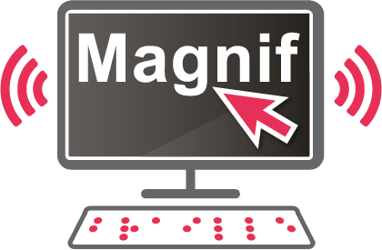 SuperNova Magnifier and Screen Reader graphic