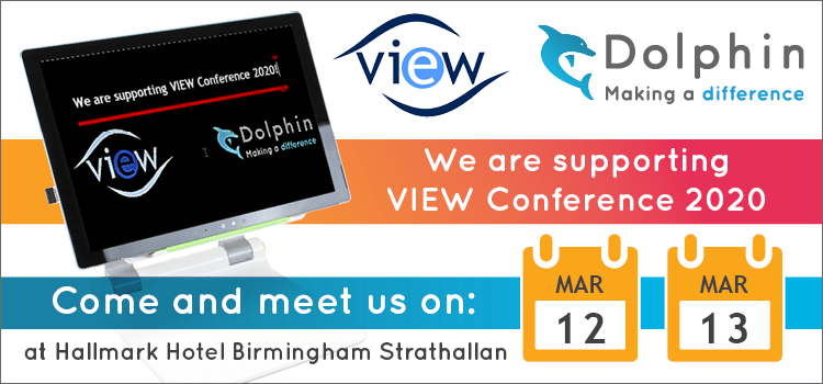 Dolphin sponsors VIEW and participates in the annual conference
