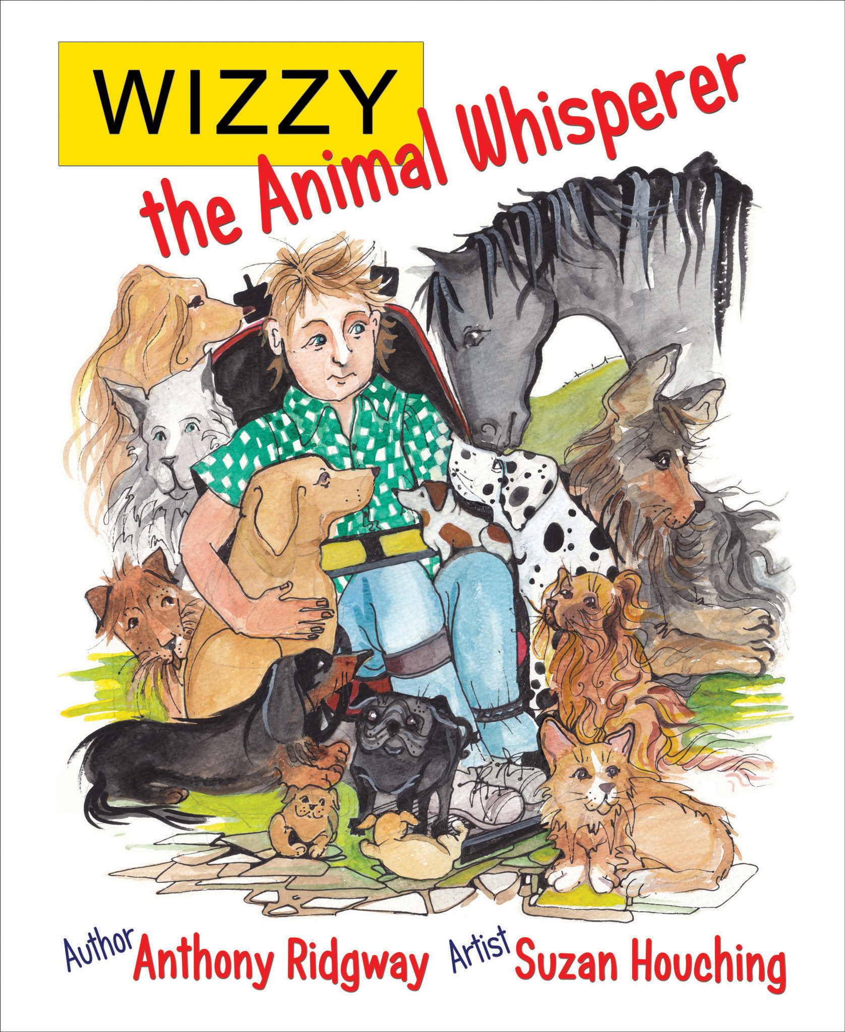 Front cover of Wizzy the Animal Whisperer book