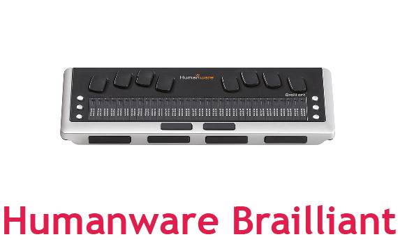 Humanware Brailliant Braille Display