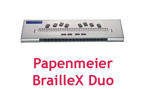 Papenmeier BraileX Duo Braille Display