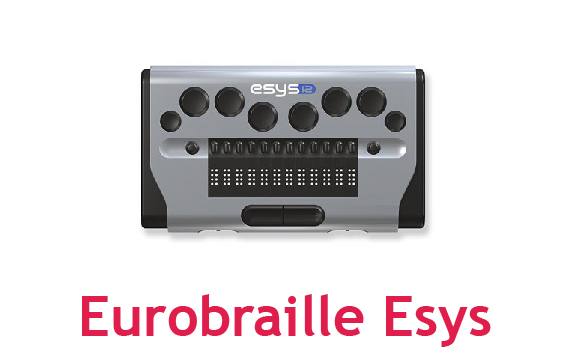 EuroBraille Esys Braille Display