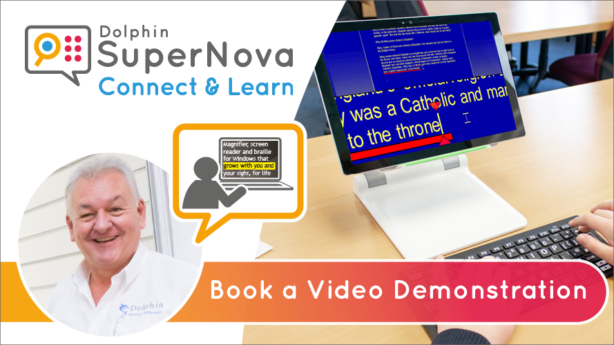 SuperNova Connect & Learn. Book a video demonstration.