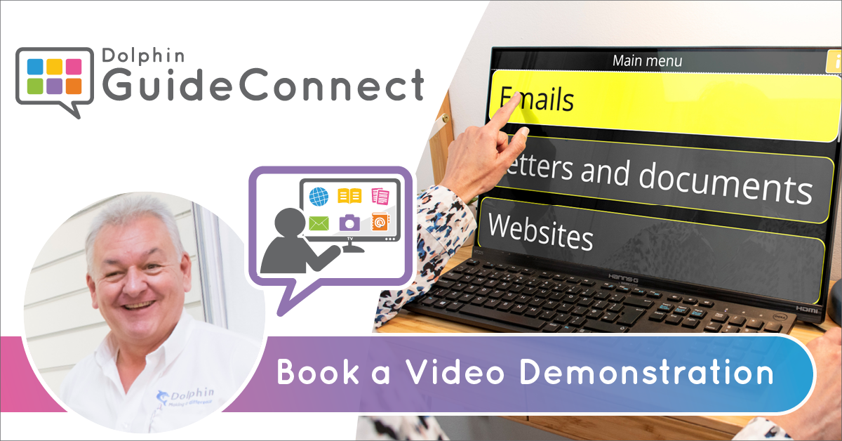 GuideConnect. Book a video demonstration.