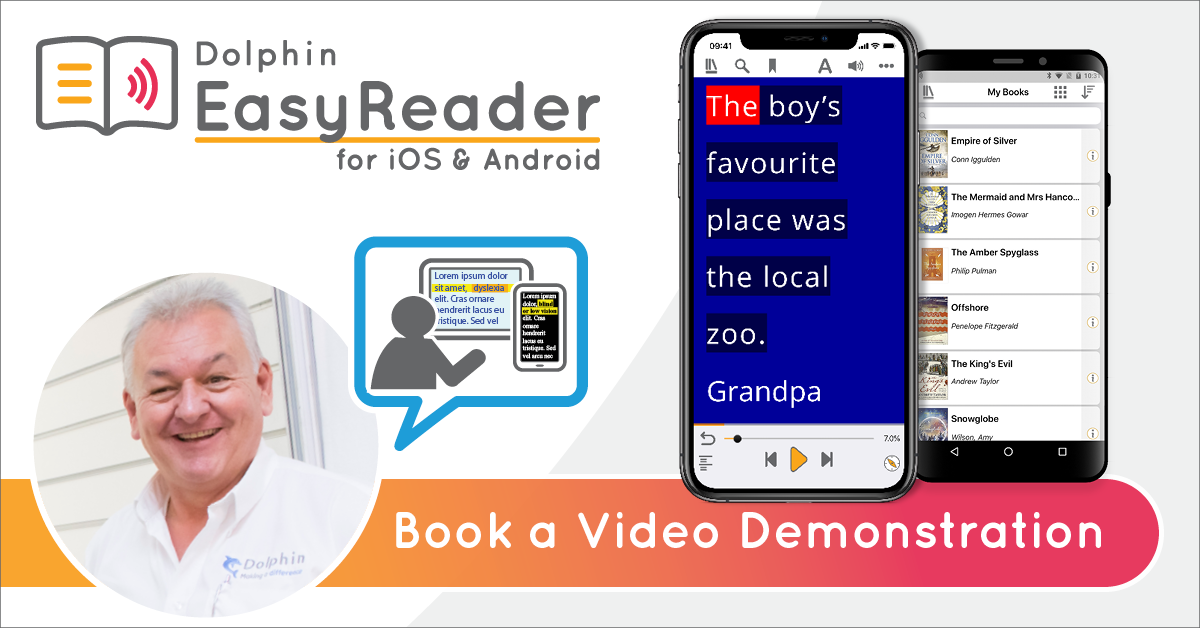 EasyReader. Book a video demonstration.