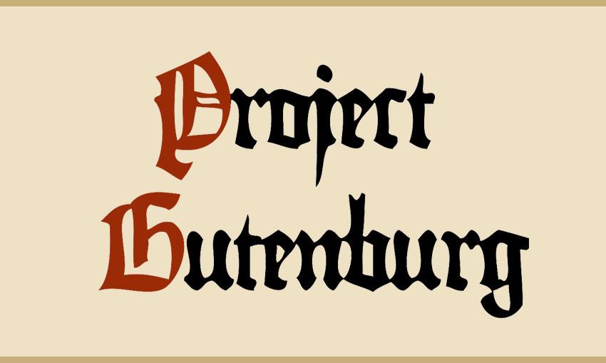 Resultado de imagen para Project Gutenberg logo
